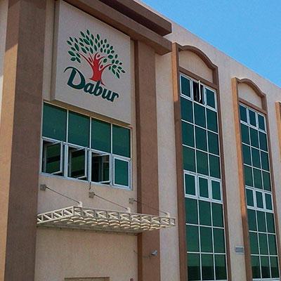 Dabur signage by mediatech international