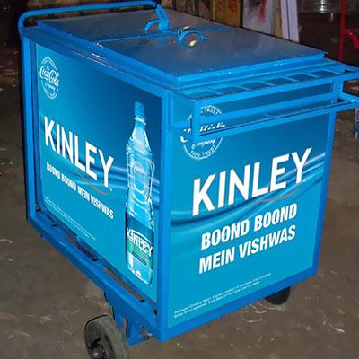 Kinley Trolly fabricated by mediatech