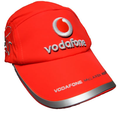 Vodafone branded cap by MIPL