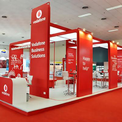 Vodafone prefabricated outlet by Mediatech International