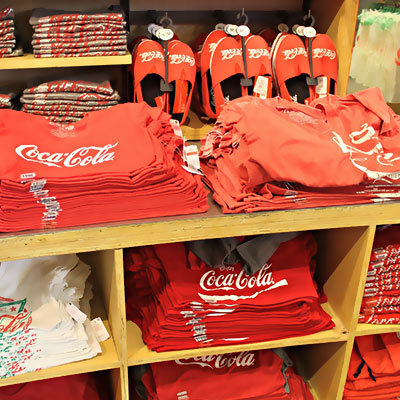 coca cola merchandise and gifting by mediatech international