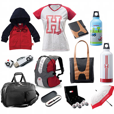 honda merchandise and gifting items by mipl